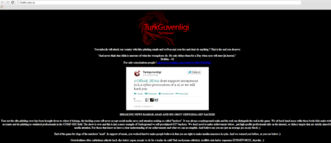 Syrian Electronic Army own website got hacked by Turkish hacker